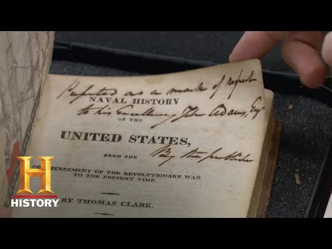 John Adam's 1814 Naval History | Pawn Stars (Season 13) | History