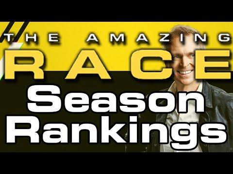 The Amazing Race - Season Rankings