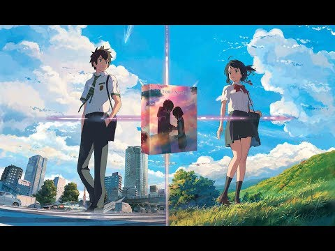 Your Name UK Deluxe Edition Unboxing - Anime Limited