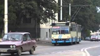 Suceava Romania  city photos gallery : SUCEAVA TROLLEYBUSES ROMANIA 1996