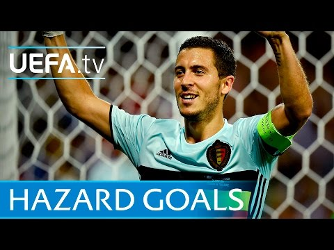 Eden Hazard - Five Great Goals
