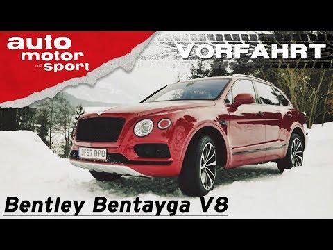 Bentley Bentayga V8 (2018): Verzicht auf Luxus? - V ...