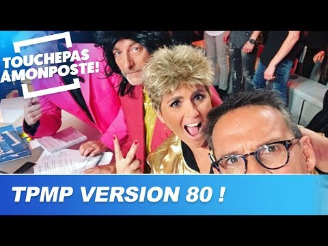 Les chroniqueurs de TPMP déguisés en stars des années 80