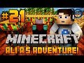 "Minecraft - Ali-A's Adventure #21! - ""ENCHANTMENT TABLE!"""