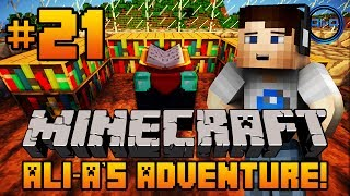 "Minecraft - Ali-A's Adventure #21! - ""ENCHANTMENT TABLE!"""