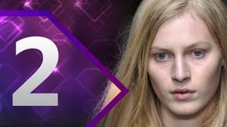 First Face - #2 Julia Nobis - Spring/Summer 2013 | Top 10 Models At Fashion Week | FashionTV