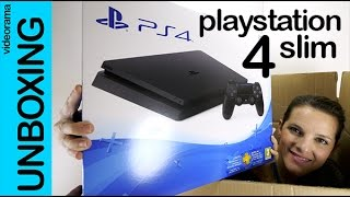 PlayStation 4 Slim unboxing en español | 4K UHD