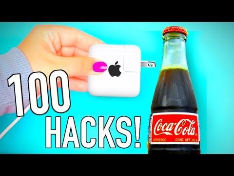 100 Life hacks you NEED to know!