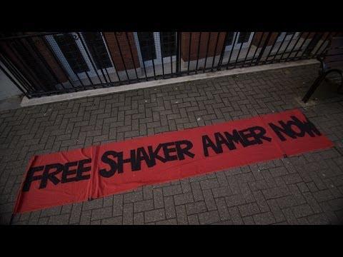 Victoria Brittain Speaks at Shaker Aamer Rally