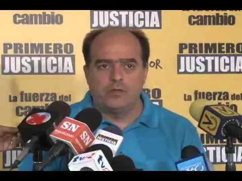 Julio Borges: Este aumento ratifica que el gobierno sacrifica al pueblo, en vez de Maduro apretarse el cinturón