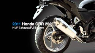 9. HMF Exhausts: 2011 Honda CBR 250
