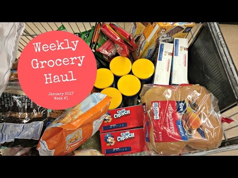 January Weekly Grocery Haul #1 -  Fry's Grocery Store