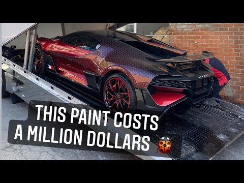 My Friend Just Bought the $5,000,000 Bugatti Divo!