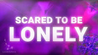 Video Martin Garrix - Scared To Be Lonely (Lyrics Video) feat. Dua Lipa MP3, 3GP, MP4, WEBM, AVI, FLV Juli 2018