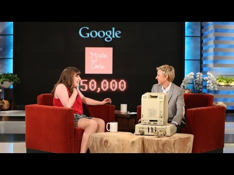 code - Ellen found an incredible young woman who may have already discovered a treatment for breast cancer. She told Ellen her surprising story, and Ellen had a surprise for her as well!