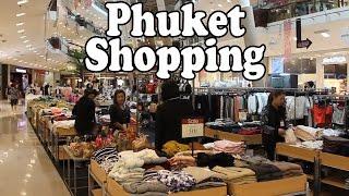 Phuket Thailand  city photo : Phuket Shopping 2016: Phuket Shopping Centres, Markets, Street Shops & Shopping Malls. Thailand Vlog