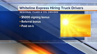 Plymouth company looking for truck drivers