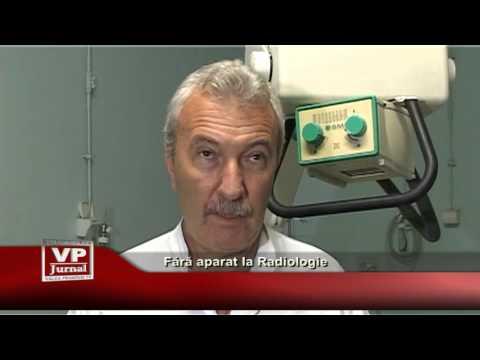 Fara aparat la Radiologie