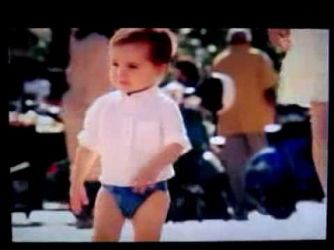 Poo in blue, New Huggies commercial 2010