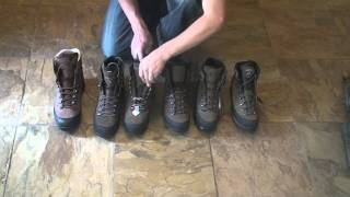 Some of the best boots available for the high country hunter and heavy duty backpacker. These boots are all mid to low in height, ...