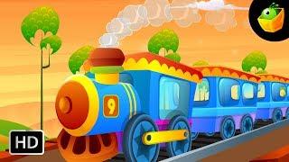 Engine Number Nine - English Nursery Rhymes - Animated/ Cartoon Songs For Kids