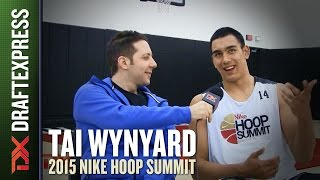 Tai Wynyard - 2015 Nike Hoop Summit - Interview