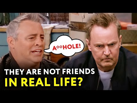 Friends Cast: The Relationships They Have in Real Life  ⭐ OSSA