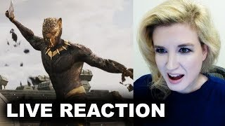 Black Panther Trailer REACTION by Beyond The Trailer