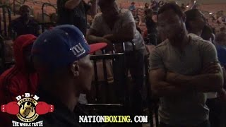 JUDAH AND MOSLEY DEBATE MAYWEATHER-PACQUIAO WITH EDDIE SANCHEZ