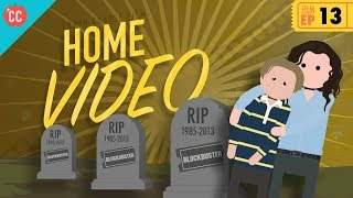 As the New Hollywood gained steam in the late 70s and early 80s, another revenue stream opened its doors: home video. From Betamax to Laserdisc to Bluray to streaming services, home video revolutionized how we ingest movies. In this episode of Crash Course Film History, Craig gives us an overview of it all. Produced in collaboration with PBS Digital Studios: http://youtube.com/pbsdigitalstudiosWant to know more about Craig?https://www.youtube.com/user/wheezywaiterThe Latest from PBS Digital Studios: https://www.youtube.com/playlist?list=PL1mtdjDVOoOqJzeaJAV15Tq0tZ1vKj7ZV***Want to find Crash Course elsewhere on the internet?Facebook - http://www.facebook.com/YouTubeCrashCourseTwitter - http://www.twitter.com/TheCrashCourseTumblr - http://thecrashcourse.tumblr.com Support Crash Course on Patreon: http://patreon.com/crashcourseCC Kids: http://www.youtube.com/crashcoursekids