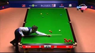 Kyren Wilson - Michael Holt (Frame 6) Snooker Shanghai Masters 2013 - Quarter Final