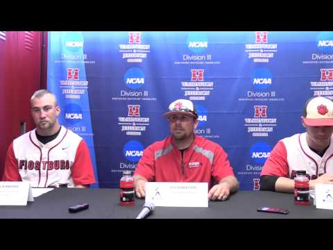 Frostburg State Post-Game Press Conference vs. Shenanodah - 5/15/15
