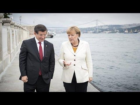 Προσφυγική κρίση και Συρία στο επίκεντρο των επαφών Μέρκελ στη Τουρκία