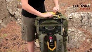 Трекинговый туристический рюкзак для продолжительных походов. Объем 80+10л. Tatonka Yukon 80