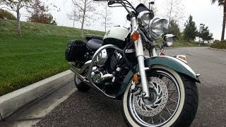 7. 1999 Yamaha VStar 650 Classic Walkaround and Review Cop Police Bike Motorcycle