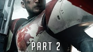 Destiny 2 Walkthrough Gameplay Part 2 includes a Review, Single Player Campaign and Main Story Mission 2 of the Destiny 2 Single Player Campaign for PS4 Pro, Xbox One X and PC. This Full Game Destiny 2 Gameplay Walkthrough includes a Review, Main Missions, all Cutscenes, Cinematics, Power Weapons, Kinetic Weapons, Energy Weapons, Supers, Raids, DLC, Story Missions and the Ending of the Single Player Campaign. Subscribe: http://www.youtube.com/subscription_center?add_user=theRadBradTwitter: http://twitter.com//thaRadBradFacebook: http://www.facebook.com/theRadBradDestiny 2 is an upcoming online-only multiplayer first-person shooter video game in development by Bungie and in assistance, Vicarious Visions and High Moon Studios. It will be published by Activision. It is set to be released on September 6, 2017 for PlayStation 4 and Xbox One, with a Microsoft Windows version scheduled for release on October 24. It will be the sequel to 2014's Destiny and its subsequent expansions.One year after the events of Destiny: Rise of Iron, the Red Legion faction of the Cabal, a military-industrial empire of massive amphibians, attack The Last City with overwhelming forces, led by their emperor, Dominus Ghaul. Ghaul, believing the Traveler erred in giving humanity the Light, succeeds in stripping the Guardians of their powers and forcing them to flee the Tower. Scattered and powerless, the Guardians must acquire new powers to face Ghaul and the Red Legion, and venture to new worlds in the Destiny universe.