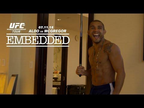 UFC 189 World Championship Tour Embedded: Vlog Series – Episode 2
