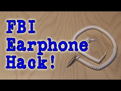 earphone - Make a secret FBI style earphone and no one will know who you really are! Get your FREE website at Squarespace here: http://Squarespace.com/kipkay Use Offer ...
