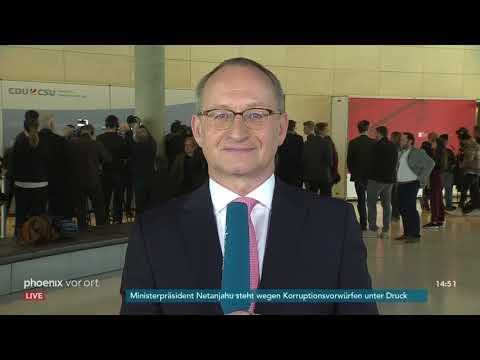 Bundestagsfraktionen zu aktuellen Themen am 09.04.2019