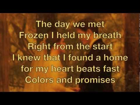 Christina Perri A Thousand Years Breaking Dawn part 2 with Lyrics