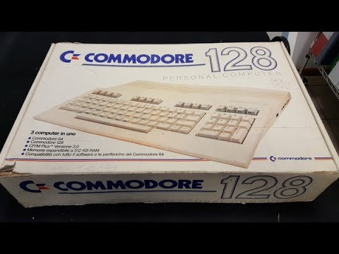 13 - Commodore 128 - Unboxing + Test + Rerobright