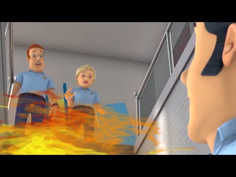 Fireman Sam ⭐️Be Safe on the Stairs! 🔥 Adventures with Sam 🔥Videos For Kids