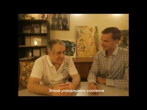 В гостях у Хасая Алиева в Центре защиты от стресса Павел Вербняк. Первая часть.