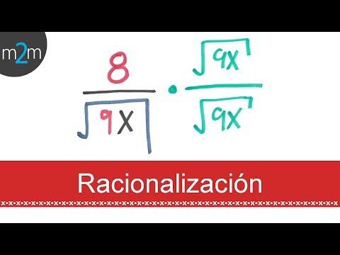 Rationalisierung eines Ausdrucks (Monom im Nenner) - HD
