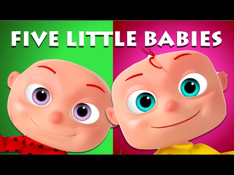 Videogyan five little babies sitting on a wall videogyan 3d rhymes nursery rhymes kids songs ccuart Image collections