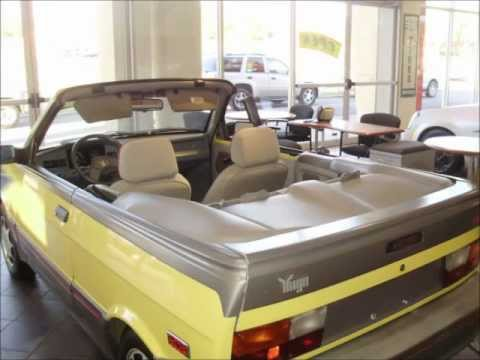 1990 Yugo Cabrio Convertible – For Sale – All Original 3219 miles