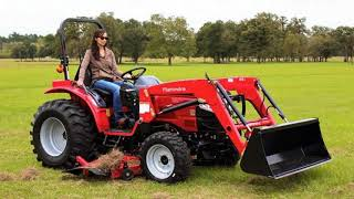6. Learn about the 2017 Mahindra 1526 4WD Tractor - Magnum Power