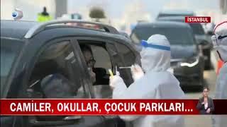 Koronavirüs Sebebiyle Gaziosmanpaşa Geneli Dezenfekte Çalışmaları - Kanal D