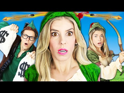 Giant Robin Hood In Real Life Musical to Rescue Missing Dog! | Rebecca Zamolo