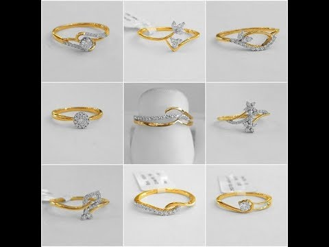 Latest 40 Diamond Finger Rings Catalogue with Price